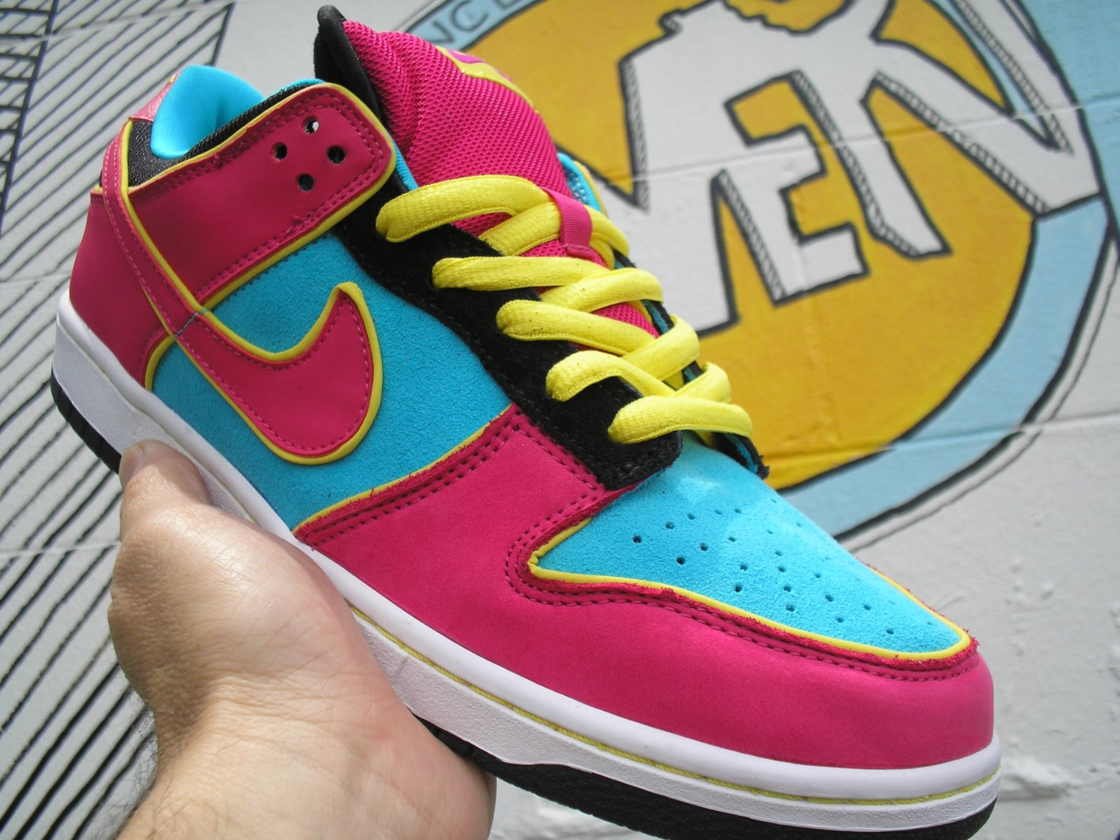 0ee9c347fad5 Chomp On this! Nike Dunk Low quick strike for MAY. MS. PACMAN. Come on.